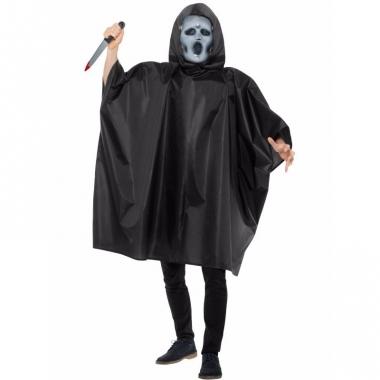 Verkleedcape scream met masker