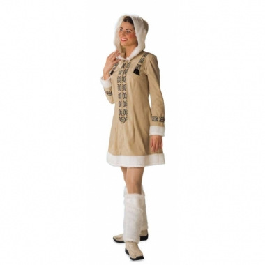Verkleedkleding eskimo voor dames