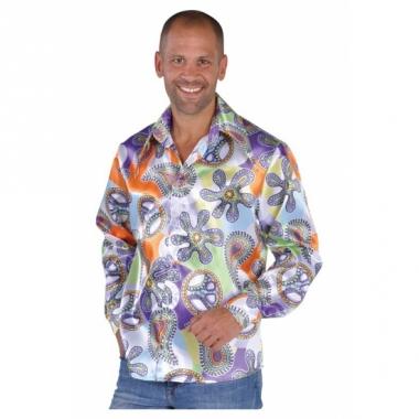 Verkleedkleding hippie shirts cool