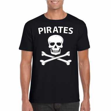 Verkleedkleding piraten shirt zwart heren