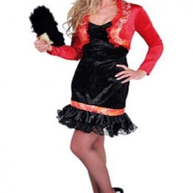 Verkleedkleding spaanse dames jurk