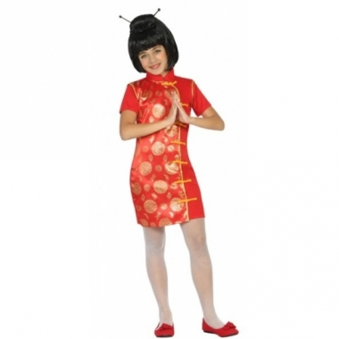 Verkleedpak chinees voor meisjes