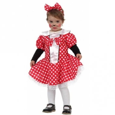 Verkleedpak muizen meisje voor peuters