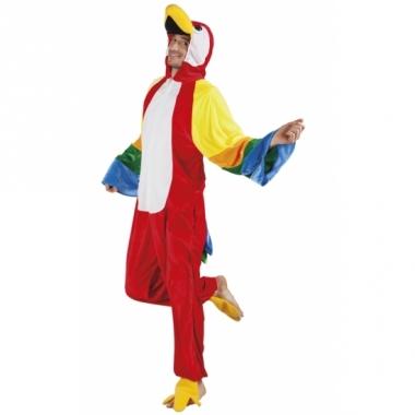 Verkleedpak papegaai voor heren