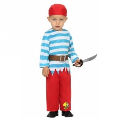 Verkleedpak piraat voor peuters