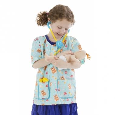 Verpleegkundige verkleedkleding voor meisjes