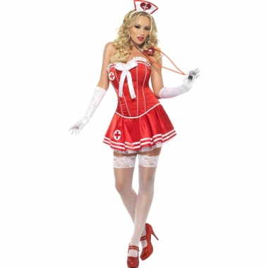 Verpleegster pakje rood