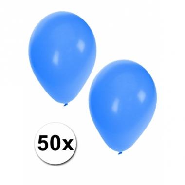 Versiering 50 bbauwe ballonnen