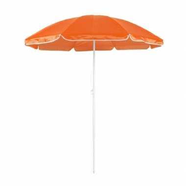 Verstelbare oranje parasol