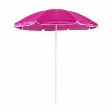 Verstelbare roze parasol