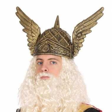 Viking verkleed helm voor heren