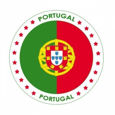 Viltjes met portugal vlag opdruk