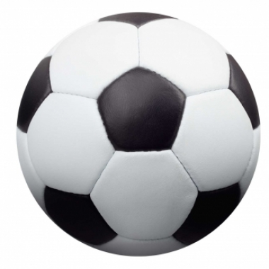 Viltjes met voetbal opdruk