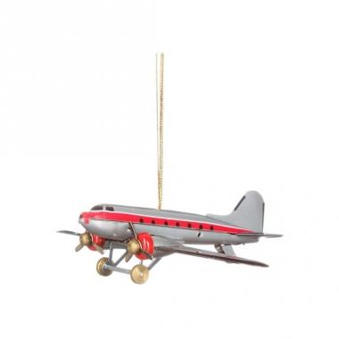 Vintage speelgoed vliegtuig 9 cm