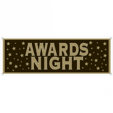 Vip thema feest banner awards