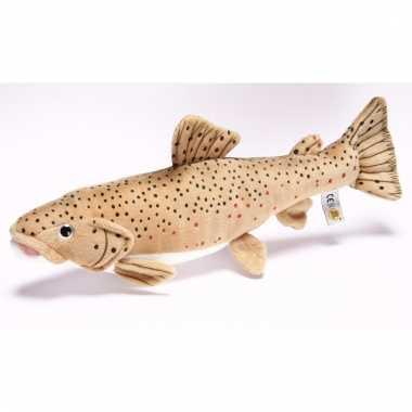 Vissen knuffeltje bruine forel 43 cm