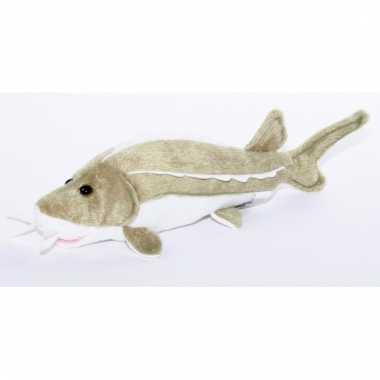 Vissen knuffeltje steur 25 cm