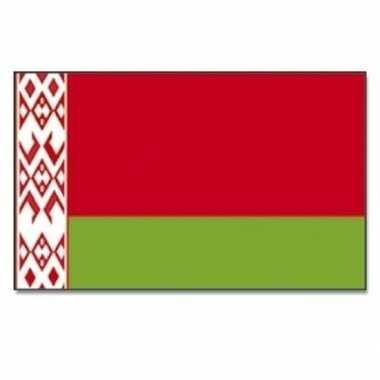Wit rusland vlag 90 x 150 cm