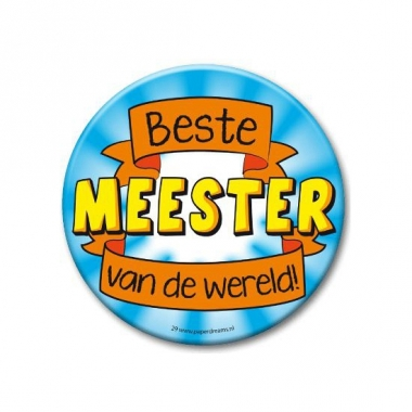Xxl button beste meester