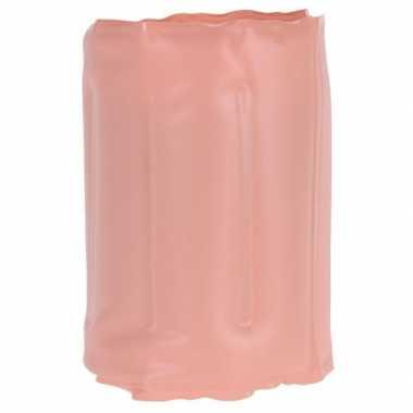 Zalm roze koelelement voor een fles