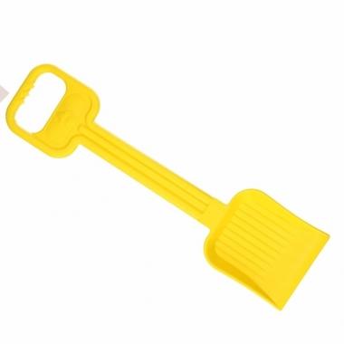 Zand.strand schep 54 cm geel