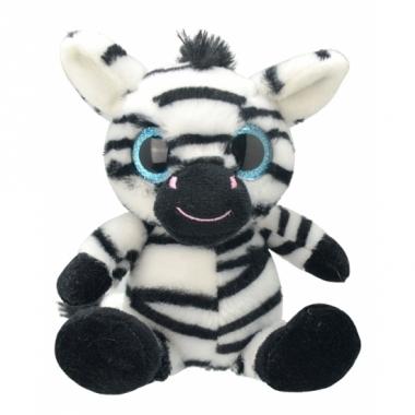 Zebra knuffeltje 20 cm