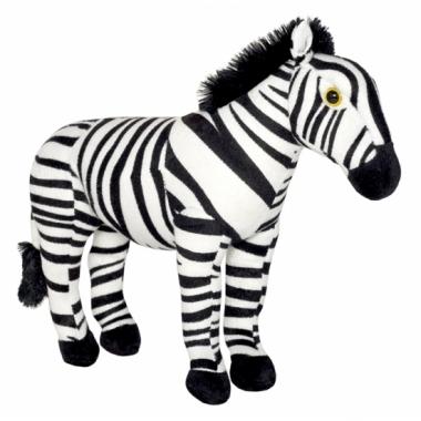 Zebra knuffeltje 30 cm