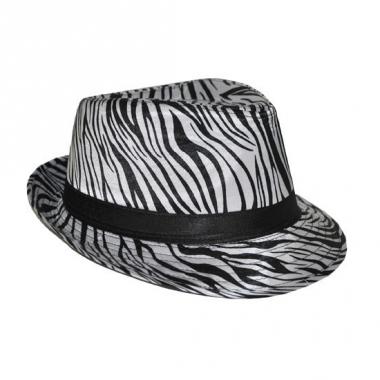 Zebra print hoedjes