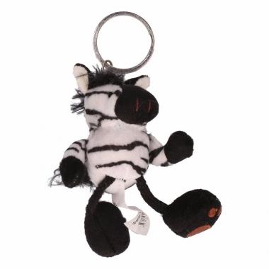 Zebra sleutelhangers 10 cm