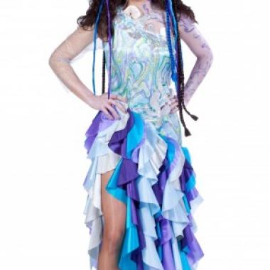 Zee prinses kostuum