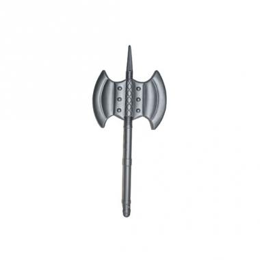 Zilveren bijl middeleeuwen 85 cm