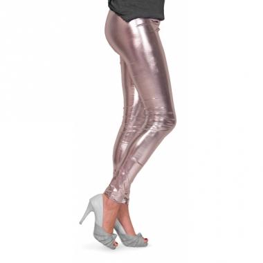 Zilveren dames legging