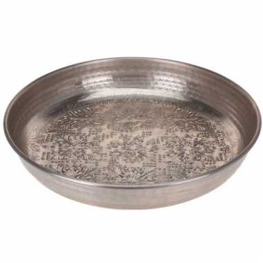 Zilveren decoratieschaal 39 cm type 2