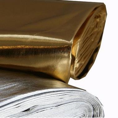 Zilveren glim stof per meter