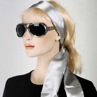 Zilveren tailleband voor dames