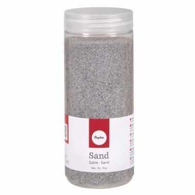 Zilveren versiering fijn zand