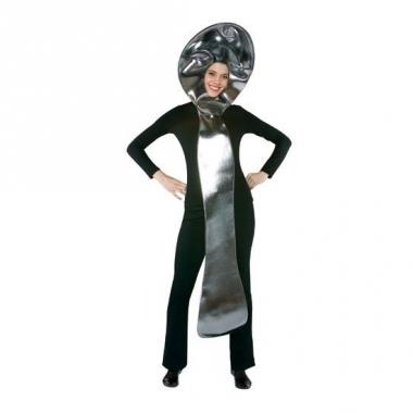 Zilverwaar lepel volwassenen verkleedkleding