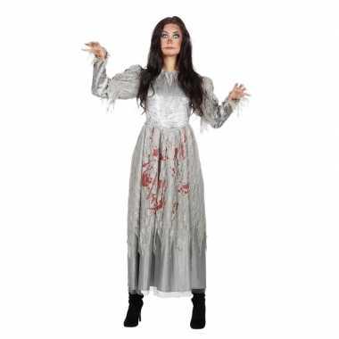 Zombie halloween bruidsjurk voor dames