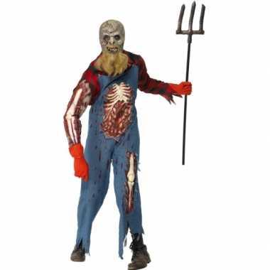 Zombie holbewoner verkleedkleding