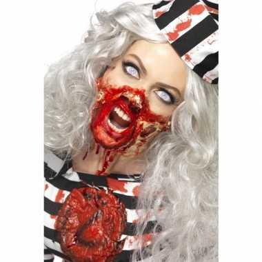 Zombie latex make-up set