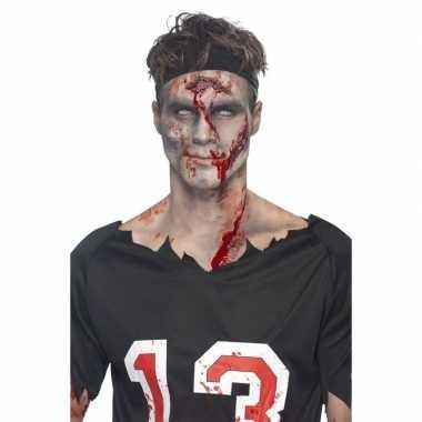 Zombies schmink set 6 delig
