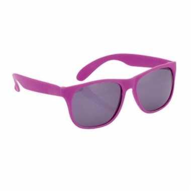 Zonnebrillen in het paars