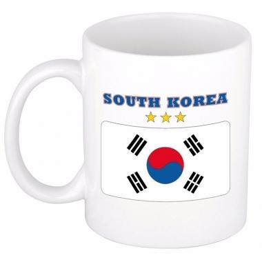 Zuid koreaanse vlag koffiebeker 300 ml