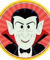 10x halloween onderzetters vampier dracula
