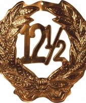 12 5 jubileum huldebord kleur brons