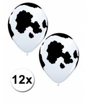 12 boerderij thema ballonnen 28 cm