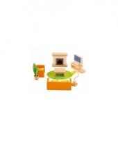 12 delige poppenhuis meubelset