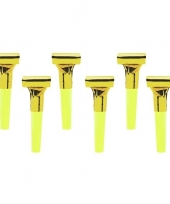 12x gouden roltongen roltoeters