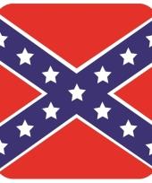 15 vierkante bierviltjes de zuidelijke staten van amerika thema