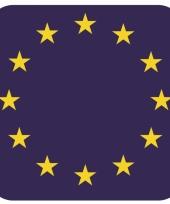 15 vierkante bierviltjes europa thema